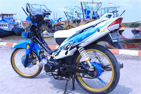 Modifikasi Motor Supra by Modifikasi Motor Supra X Standar Thecitycyclist
