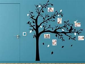 Wandtattoo Baum Mit Bilderrahmen : wandtattoo baum mit sten und fotos bei ~ Eleganceandgraceweddings.com Haus und Dekorationen