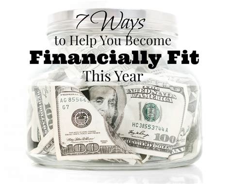 7 Ways To Help You Become Financially Fit This Year  Saving Cent By Cent