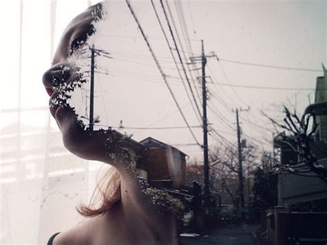 multiple exposure photography  miki takahashi