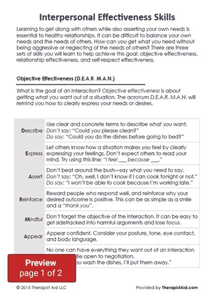communication skills worksheets for adults photos getadating