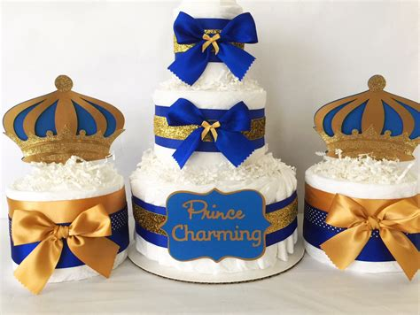 royal baby shower cake prince charming cake in royal blue and by