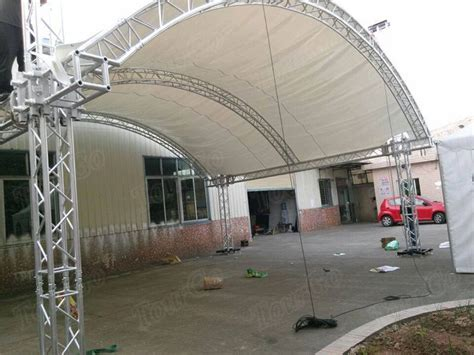 tourgo aluminum spigot truss curved roof truss design for stage performance china tourgo