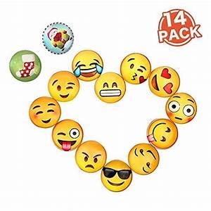 Magnettafel Für Kinder : bellejoomu 14 st cke emoji magnete f r magnettafel k hlschrankmagnete starke magnete kinder ~ Frokenaadalensverden.com Haus und Dekorationen