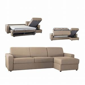 canape d39angle convertible reversible en tissu coton pas With canape angle beige pas cher