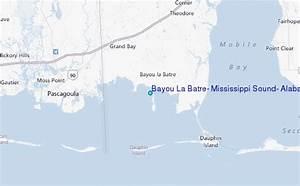Bayou La Batre Mississippi Sound Alabama Tide Station