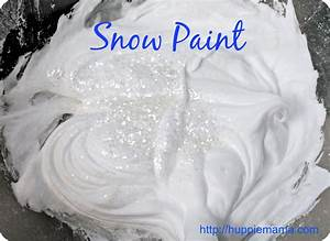 Snow Paint - Our Potluck Family