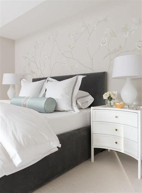 Bed With White Nightstands by 22 Best Images About Dress A Bed On Gray