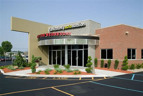 clark county auto auction indiana architects firm