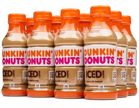 Black coffee, or a plain cappuccino, latte, or macchiato. Dunkin' Donuts Iced Coffee 12 x 13.7 oz. - Original   Boxed
