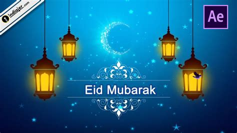 eid mubarak wishes animation video messages happy eid quote ae template  indiater