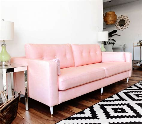 Pink Loveseat by Pink Sofa Ikea Klippan Loveseat Ikea The Cover Is Easy To