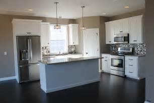 corner kitchen island 5322 white kitchen with large center island kitchen layout l shaped description spacious