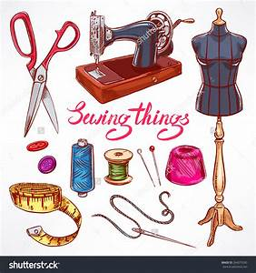 Tailor With Sewing Machine Clipart (74+)
