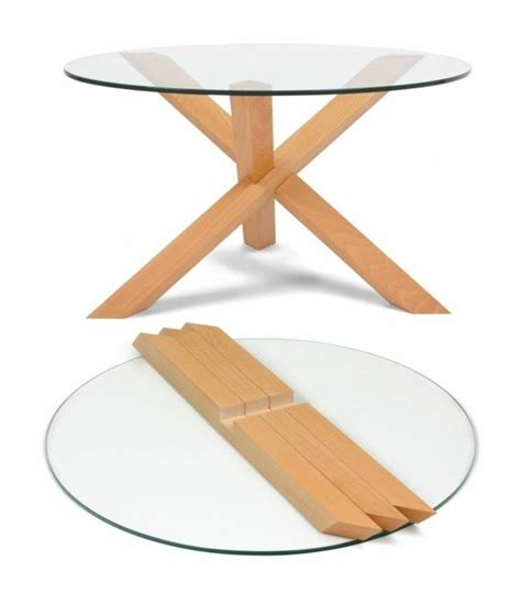 la table basse bois et verre en 43 photos d int 233 rieur
