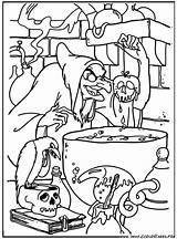 Sorciere Neige Blanche Neve Branca Pomme Dessin Coloriage Disney Witch Colorier Colorir Coloring Imprimer Coloriages Empoisonnee Walt Printable Portal sketch template