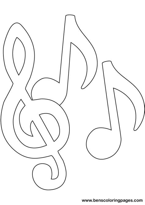 notes coloring pages getcoloringpagescom