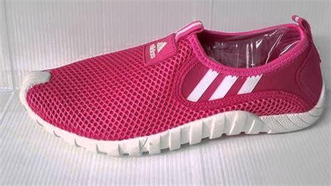 sepatu adidas slip on cewek baru line sepatu