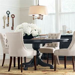 best 25 black round dining table ideas on pinterest With round dining room table decor