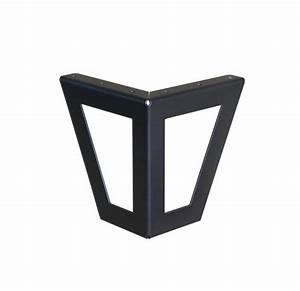 Meuble Tv Pied Metal : pied de meuble design ajour pour cr er votre mobilier ~ Teatrodelosmanantiales.com Idées de Décoration