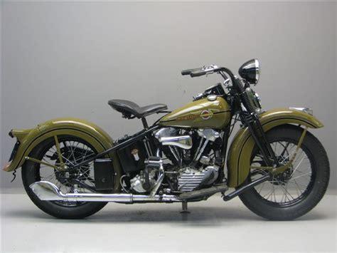 Harley Davidson 1938 Knucklehead 1000 Cc 2 Cyl Ohv