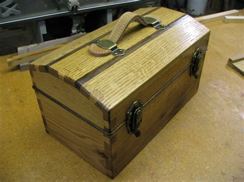 hand cut dovetail tool box finewoodworking