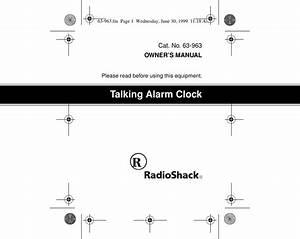 Radio Shack 63 963 Users Manual Rsbl U0026 39 Dxni