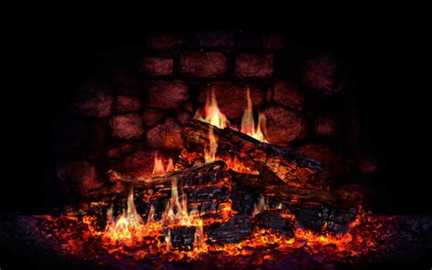 Fireplace Wallpaper Animated - animated desktop wallpaper wallpapersafari