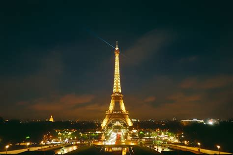 Free Images Sunset Night City Eiffel Tower Paris