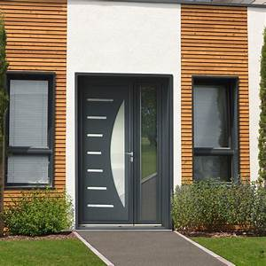 porte d entree en aluminium dootdadoocom idees de With porte d entrée alu avec meuble de salle de bain industriel