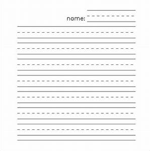 lined paper template 12 free word excel pdf documents With learning to write paper template