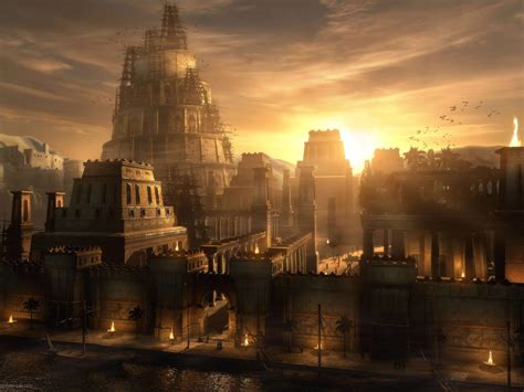 fantasy  city landscape wallpaper images
