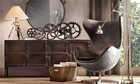 adopt  unconventional steampunk decor   home
