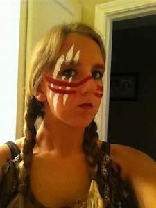 Native American face paint   Monster Mash   Pinterest ...