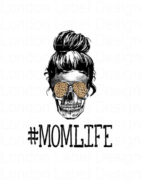 We would like to show you a description here but the site won't allow us. Mom Life skull, Digital Design, PNG image, sublimation ...