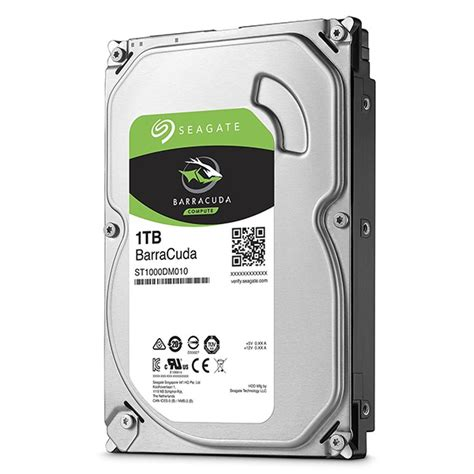 hdd interno hd 1tb sata 3 5 seagate 1tera interno barracuda 64mb