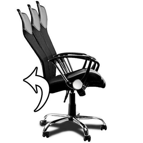 solde fauteuil de bureau fauteuil chaise de bureau noir inclinable achat vente
