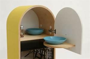 Schrank Für Mikrowelle : mini k che lo lo eine praktische und platzsparende idee ~ Michelbontemps.com Haus und Dekorationen