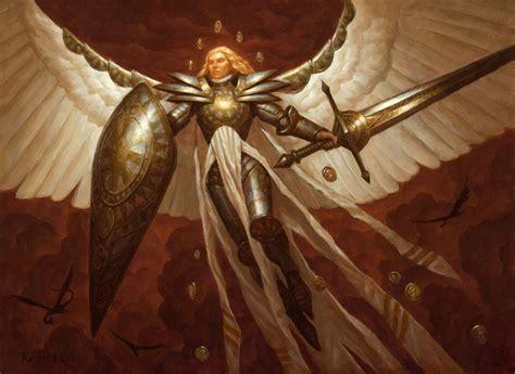 Angel And Demons Wallpaper Jenara Asura Of War The Art Of Chris Rahn