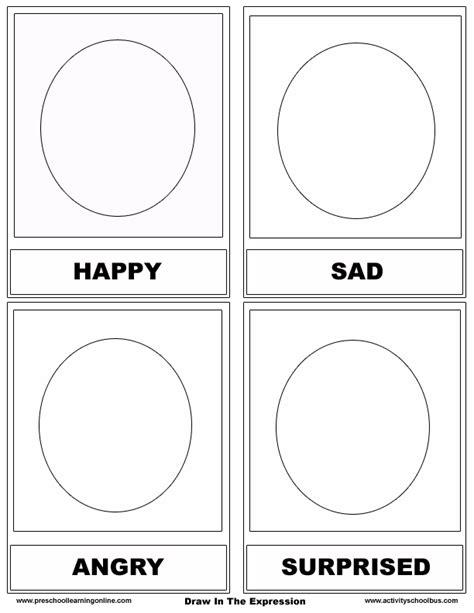 free emotions flashcards feelings cards preschool