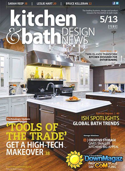 kitchen design magazine kitchen bath design news may 2013 187 pdf 1256