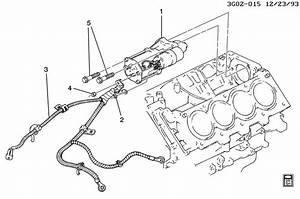Oldsmobile Aurora Starter Motor Mounting
