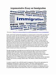 Argumentative Essays On Immigration Dissertation Synopsis Format  Persuasive Essays On Immigration Bibliography Of A Website also Research Essay Proposal Example  Student Life Essay In English