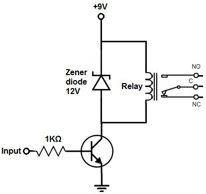 Relay Driver Circuit Electronics Electronic Schematics