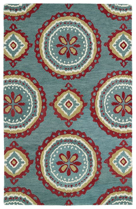 And Teal Rug by Kaleen Global Inspirations Glb09 91 Teal Area Rug