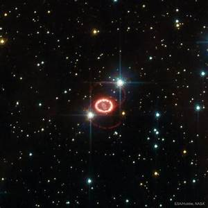 APOD: 2017 March 5 - The Mysterious Rings of Supernova 1987A