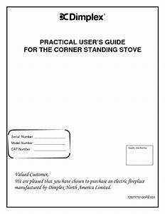 Corner Standing Stove Manuals