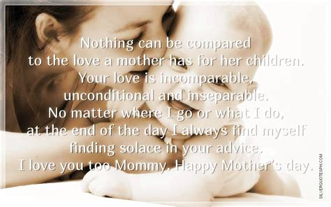Quotes Mother Love Her Child