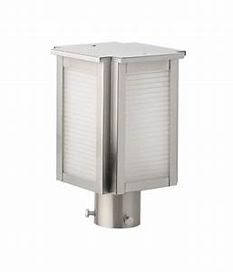 Superscape outdoor lighting gate pillar post