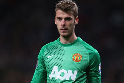 David De Gea Quietly Coming Of Age At Manchester United